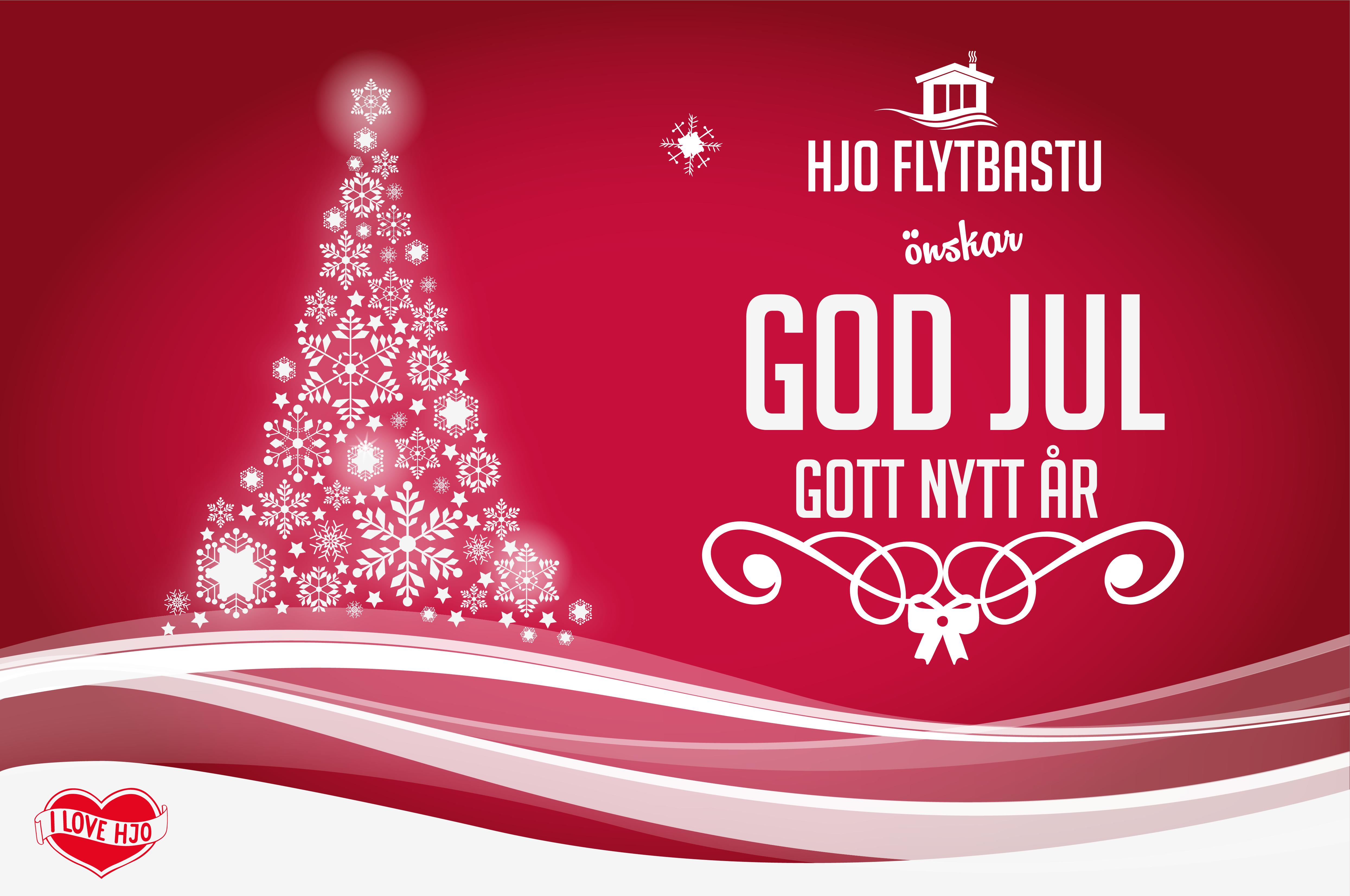 God Jul och gott nytt år hjo flytbastu godjul hjo flytbastu god fortsättning